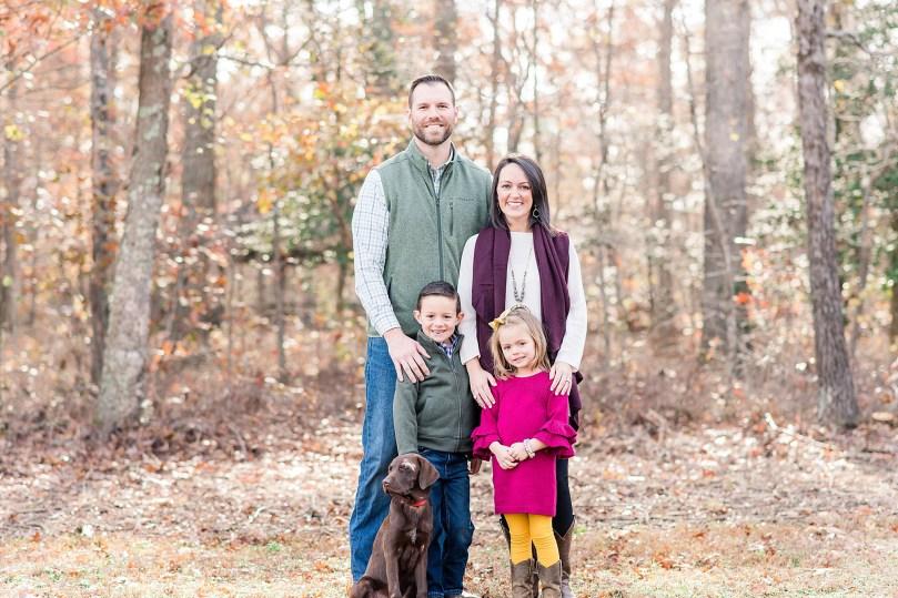 Alexandra Michelle Photography - Christmas Minis - 2018 - Family Portraits - Crump Park - Collier-8