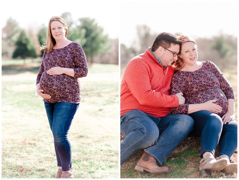 Alexandra Michelle Photography - Leesburg Virginia - Family - Maternity Portraits - Ida Lee Park - Spring 2019 - Perez-14