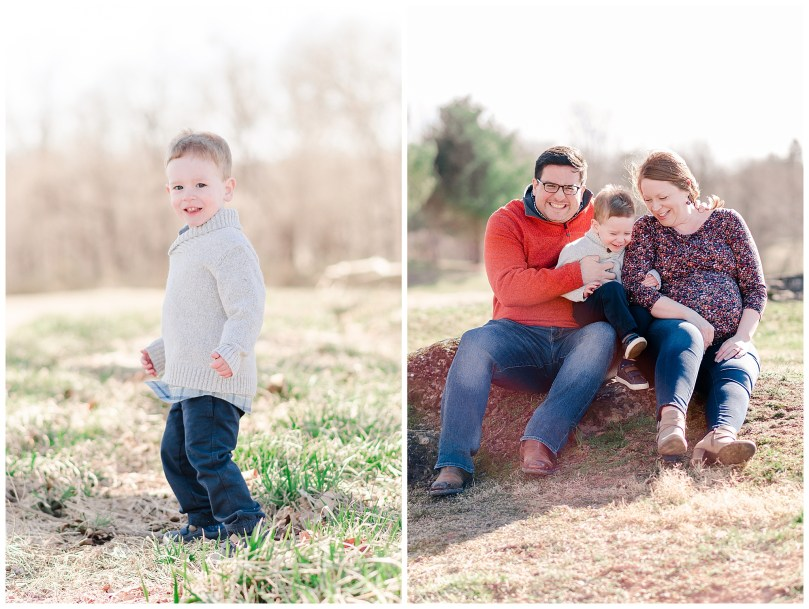 Alexandra Michelle Photography - Leesburg Virginia - Family - Maternity Portraits - Ida Lee Park - Spring 2019 - Perez-20