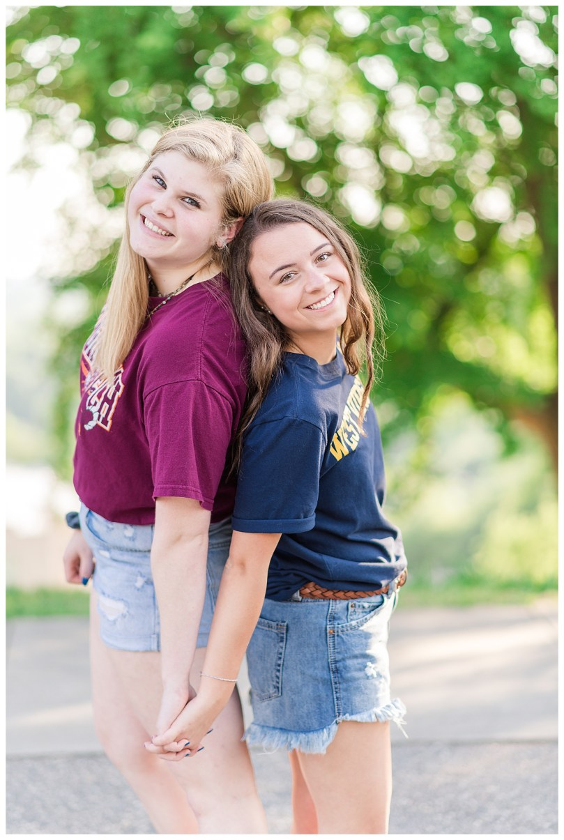 Alexandra Michelle Photography - Senior Best Friend Portraits - BFFs - Libby Hill Park - Richmond Virginia - Spring 2019-11