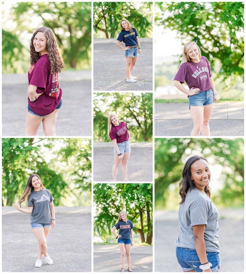Alexandra Michelle Photography - Senior Best Friend Portraits - BFFs - Libby Hill Park - Richmond Virginia - Spring 2019-18
