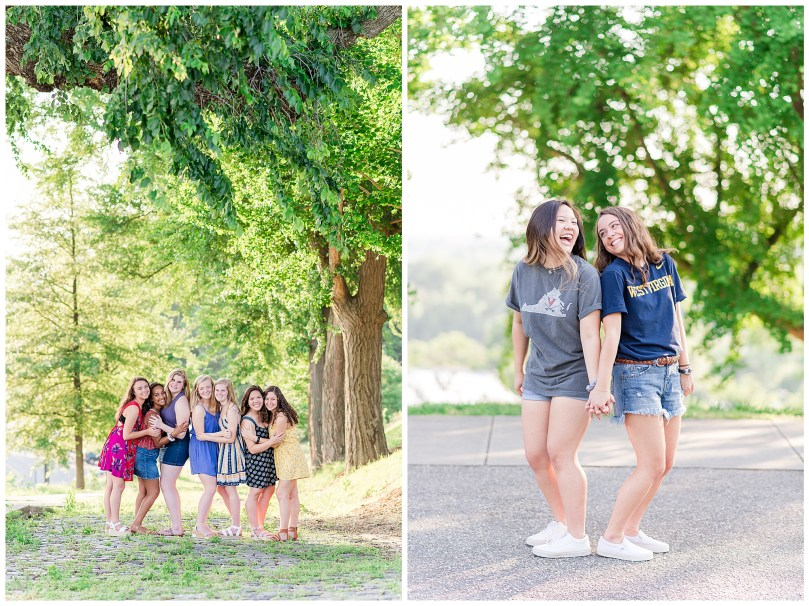 Alexandra Michelle Photography - Senior Best Friend Portraits - BFFs - Libby Hill Park - Richmond Virginia - Spring 2019-21
