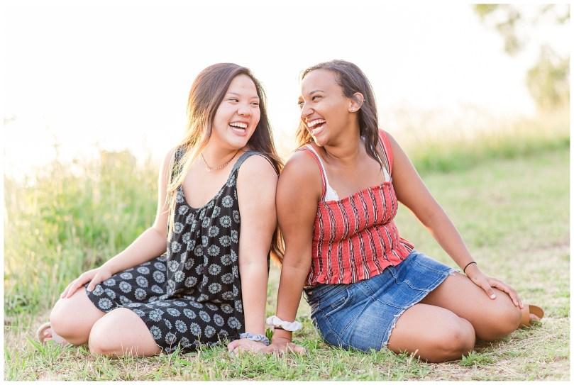 Alexandra Michelle Photography - Senior Best Friend Portraits - BFFs - Libby Hill Park - Richmond Virginia - Spring 2019-43
