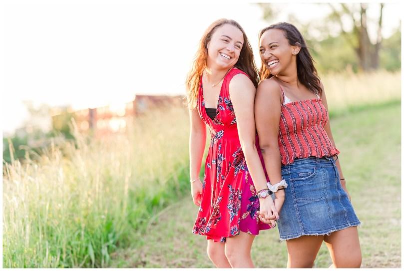Alexandra Michelle Photography - Senior Best Friend Portraits - BFFs - Libby Hill Park - Richmond Virginia - Spring 2019-46
