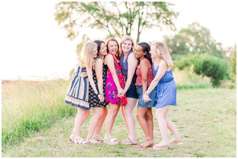 Alexandra Michelle Photography - Senior Best Friend Portraits - BFFs - Libby Hill Park - Richmond Virginia - Spring 2019-51