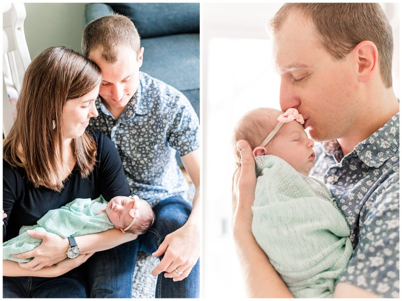 Alexandra Michelle Photography - 2019 -Baltimore Maryland - In Home Newborn Session - Coiner-76