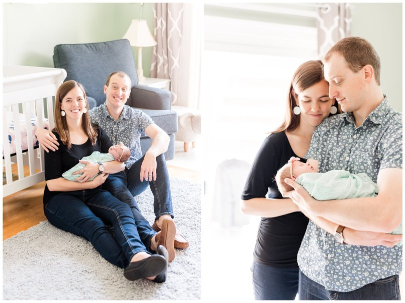 Alexandra Michelle Photography - 2019 -Baltimore Maryland - In Home Newborn Session - Coiner-80