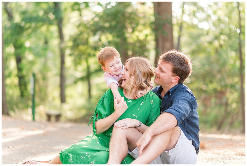 Alexandra Michelle Photography - 2019 - Richmond Virginia - Bryan Park - Family Portrait Photographer - Family Portraits - Fall - Leak Family-9-1