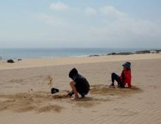 playing with sand II