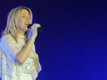 Ellie singing Army