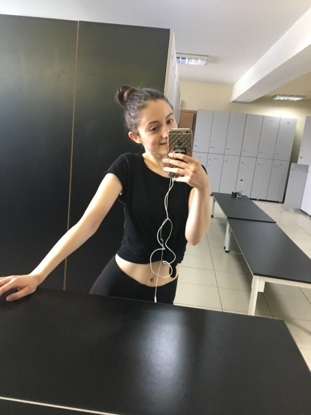 first day at the gym