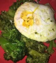 broccoli and egg