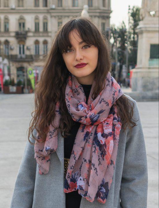 Alexandra Bulac photo shooting in Bucharest
