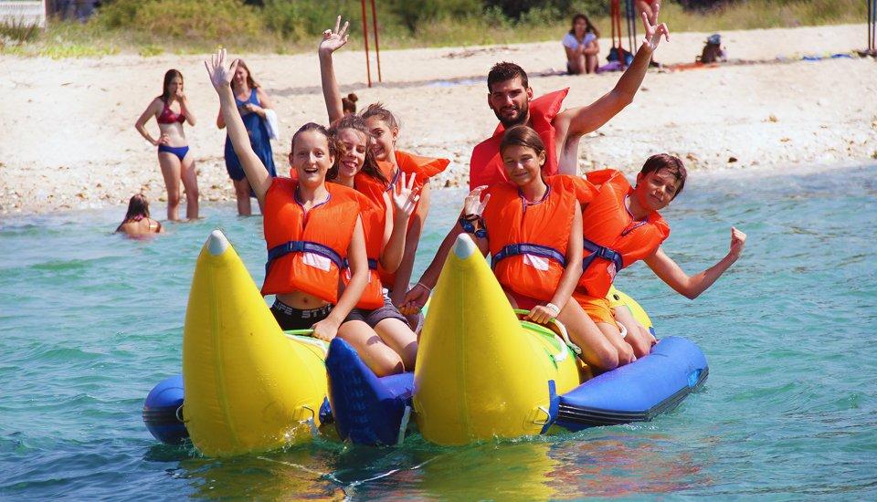 Παιδική Κατασκήνωση Alexandra Camp Banana boat