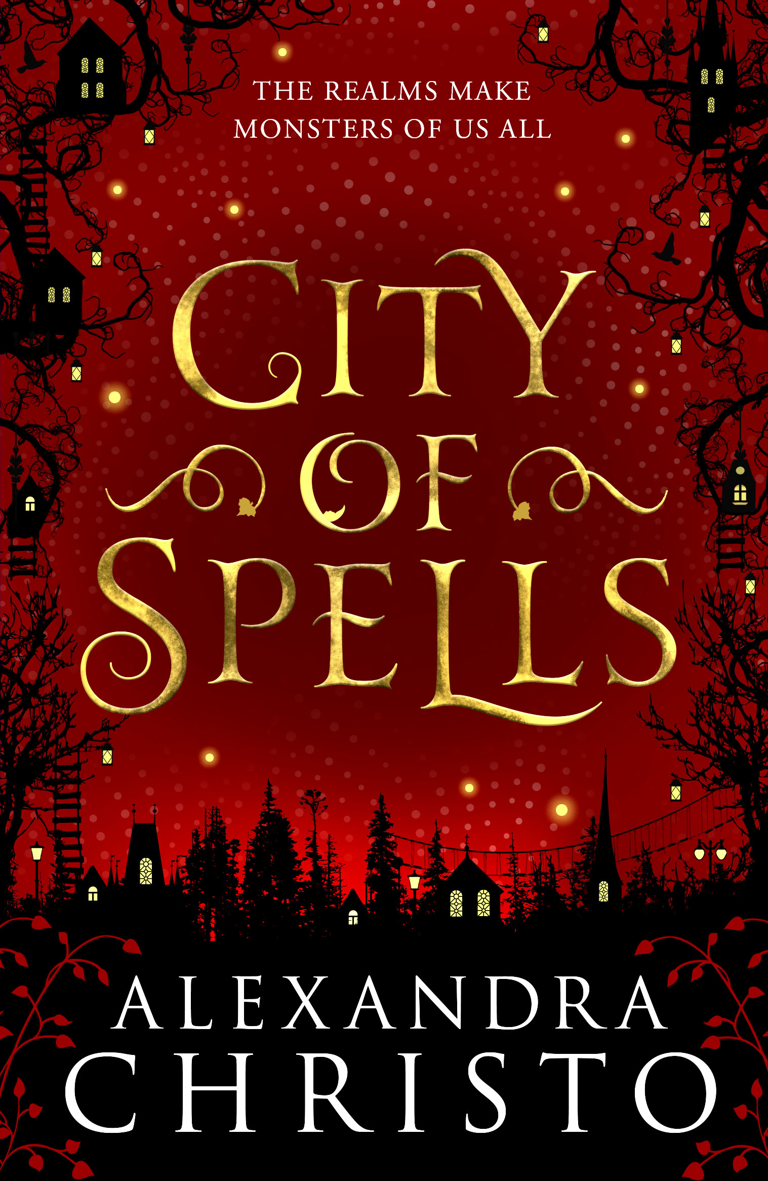 City of Spells UK cover
