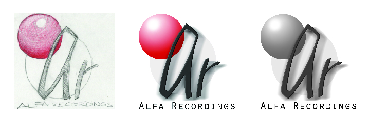 Alfa Recordings (School Rebranding Excersice) - April, 2004