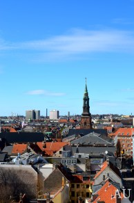 Copenhagen from the tower