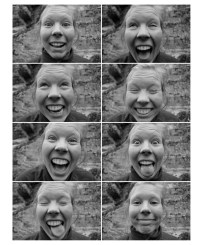 Maria's funny faces