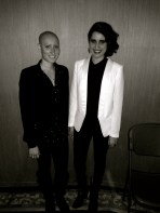 Kayla and I