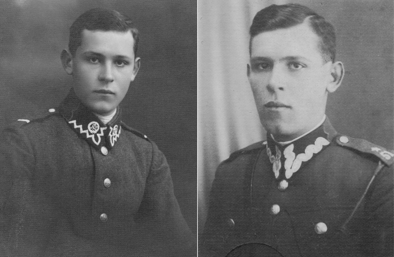 How to Obtain Polish WWII Military Records - Dziadzio as a young man in his military uniforms | alex inspired