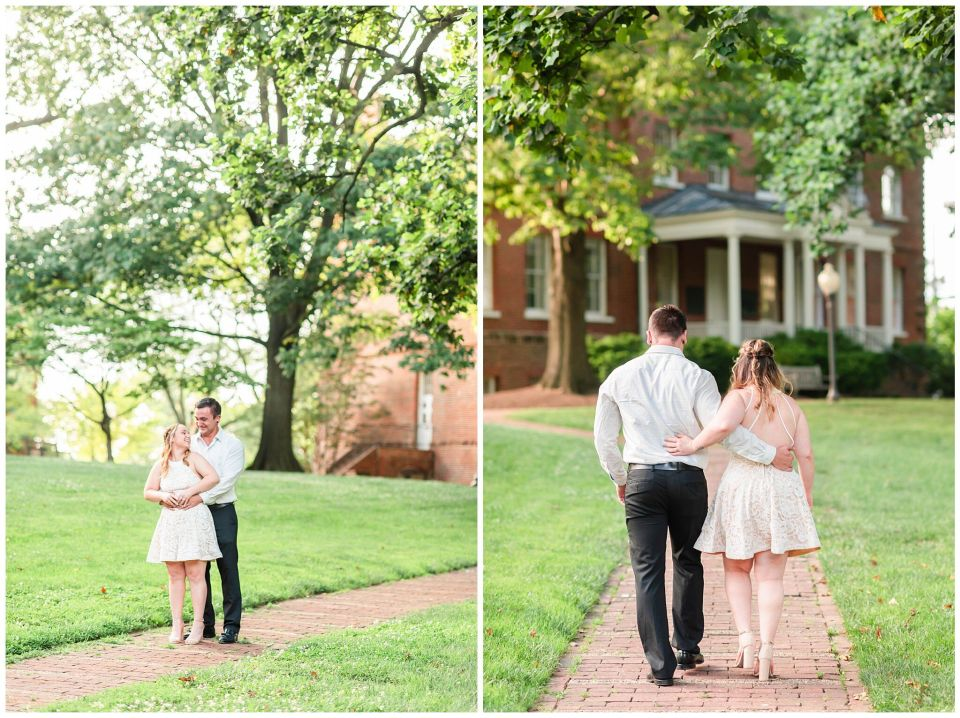 Summer Annapolis Engagement Session