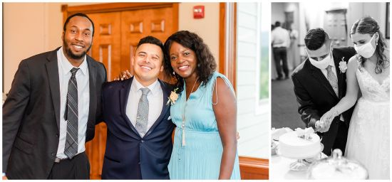Maryland National golf club wedding
