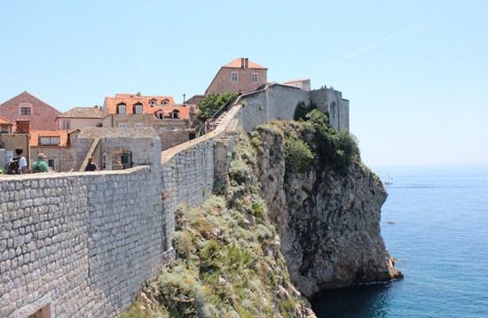 Dubrovnik - Walls View
