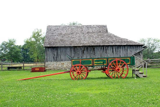 Missouri Town 1855 - Cart