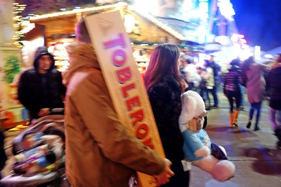 Winter Wonderland 2014 - Toblerone