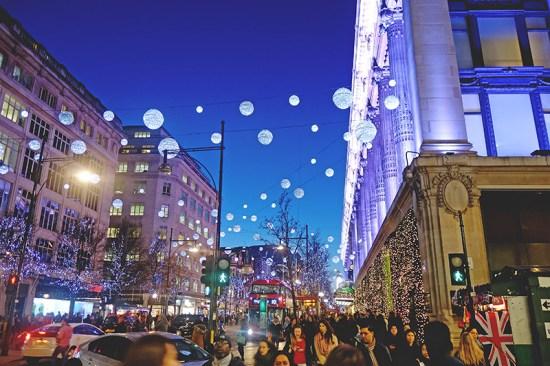 Christmas Diary 2014 - Oxford Street