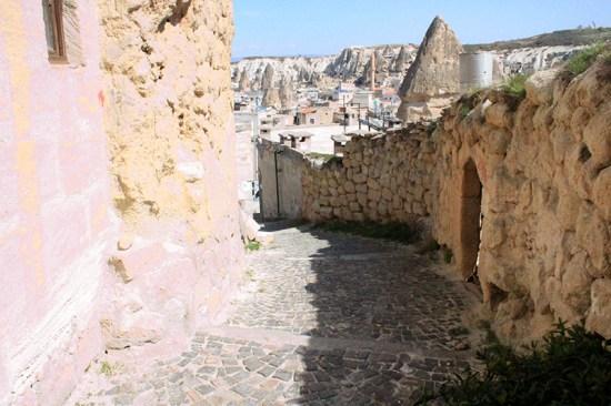 Cave Hotel in Cappadocia, Turkey - Street