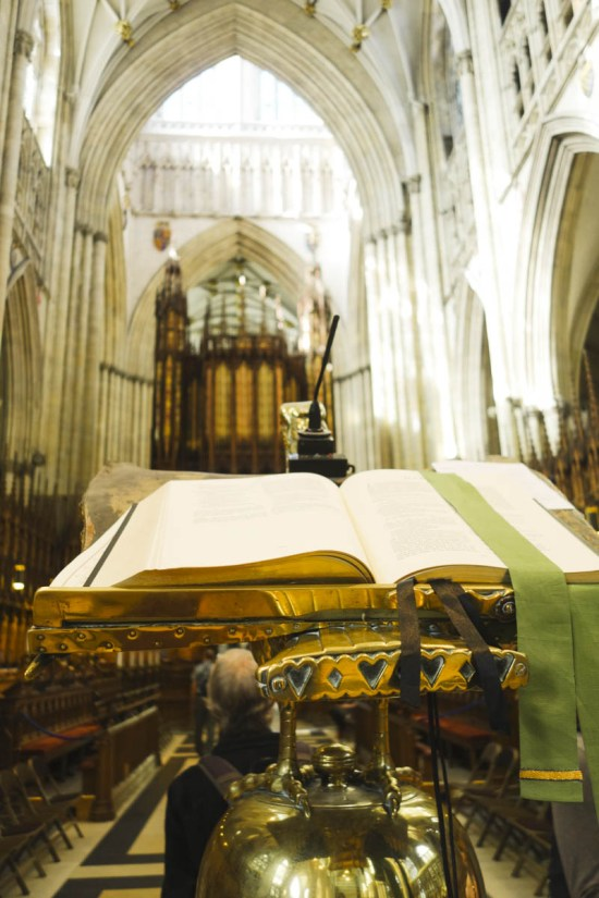 The Lights of York Minster - Bible