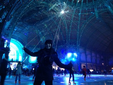 Skating in the Grand Palais