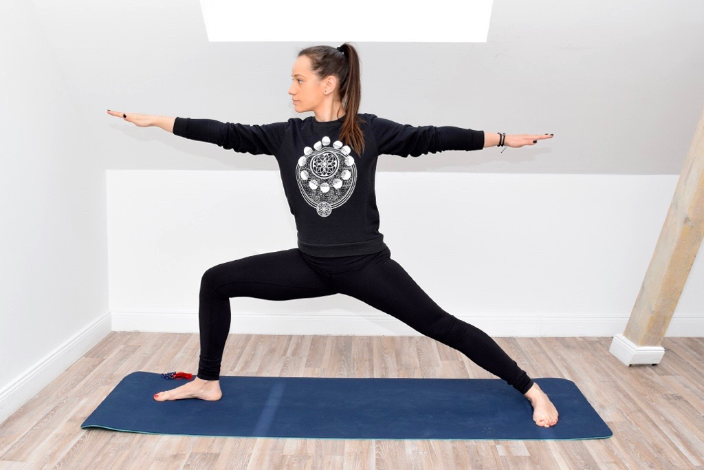 Yoga Virabhadrasana II