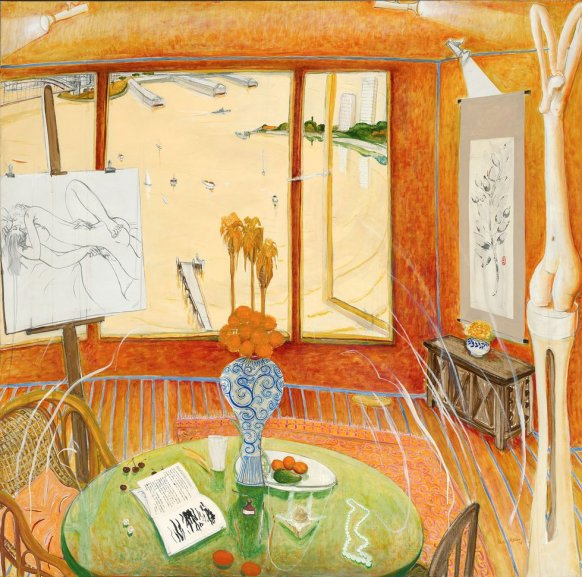 'Interior with time past' 1976. Brett Whiteley