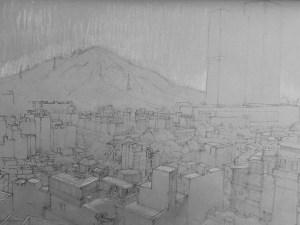 Drawing by Alexandra Sasse 'Shenzhen'