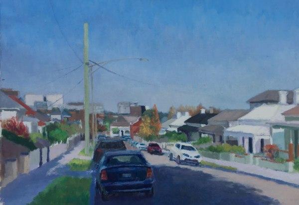 Painting of Salisbury Grove Hawthorn by Alexandra Sasse