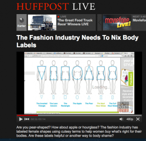 HuffPo Live Body Shapes