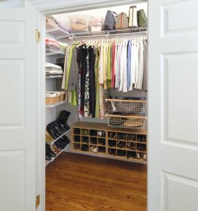 organized-decluttered-closet