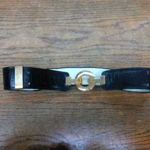 Original Black Vintage Belt