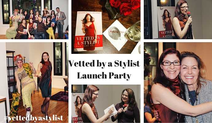 Alexandra Suzanne Greenawalt launched her second book Vetted by a Stylist in Manhattan