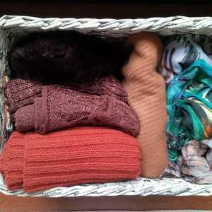 Fold + Organize your scarves