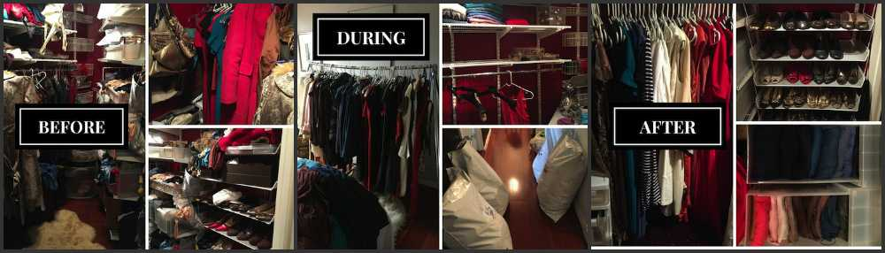 how to organize your closet like a stylist