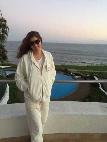 Alexandra Stylist at Wellness retreat