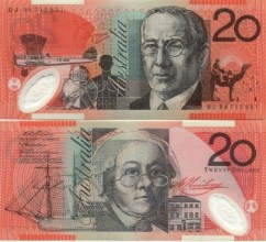 Mary Reibey and Revered John Flynn. Banknotes.com, Currency Gallery: Australia. http://www.banknotes.com/au.htm