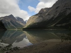 Kinney Lake in Mt. Robson Provincial Park on traditional unceeded territory of the Texqakallt First Nation.