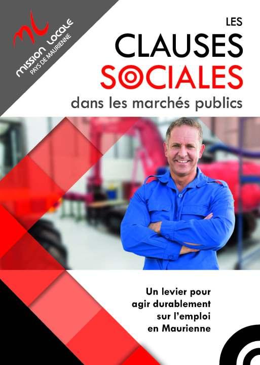 clauses sociales dans les marchés publics Mission Locale Pays de Maurienne