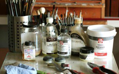 A Qualidade dos Materiais numa Pintura a Óleo