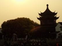 Couché de soleil sur Suzhou