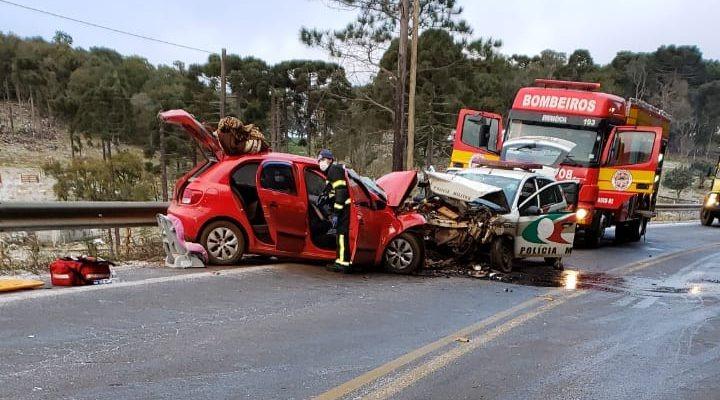 """Acidente em rodovia """"congelada"""" mata sargento da PM na Serra Catarinense -  ALEXANDRE JOSÉ - Notícias de Blumenau e Vale do Itajaí"""